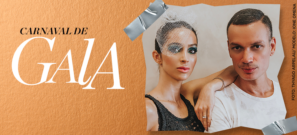 Maquiagem glam para o Carnaval