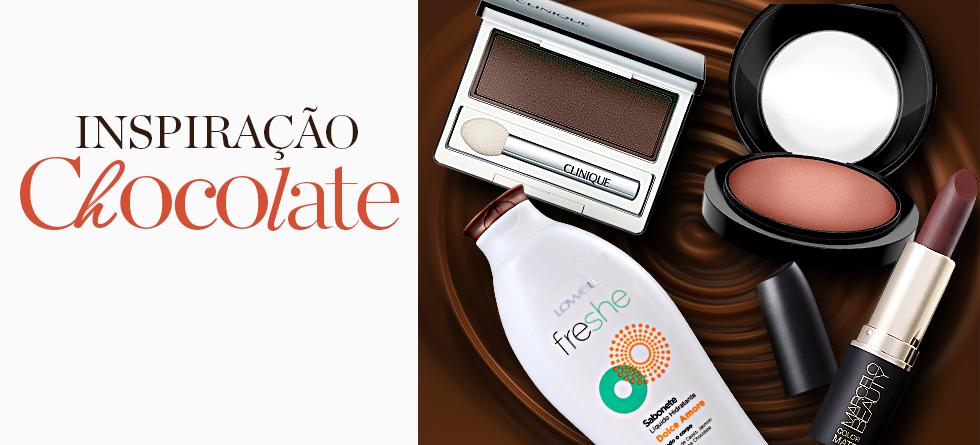 5 cosméticos inspirados no chocolate
