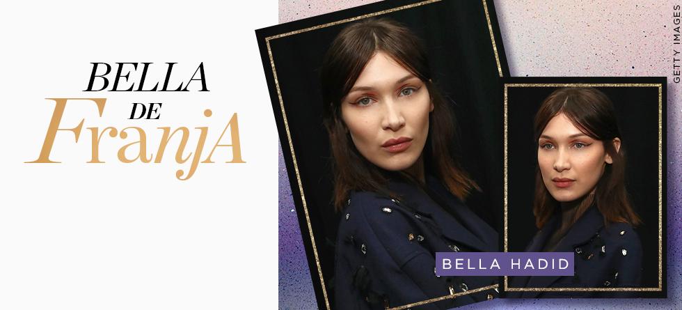 A franja de Bella Hadid