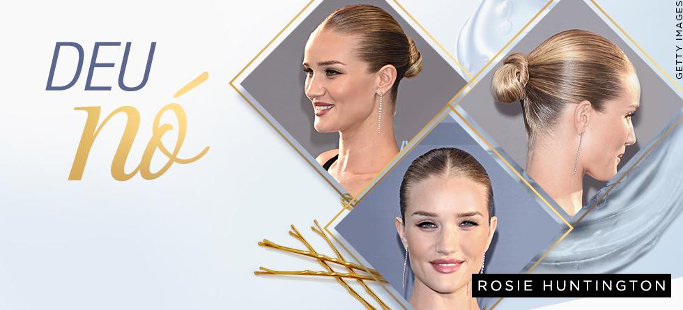 Penteado tendência: slick knot