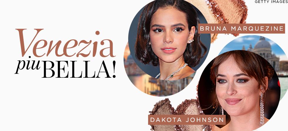 Maquiagem das famosas no Festival de Veneza 2018