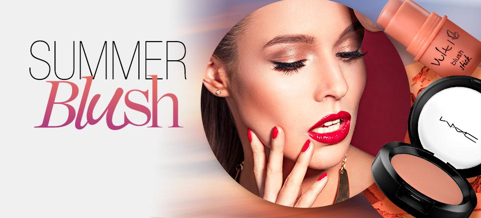 5 maneiras de aplicar blush neste verão