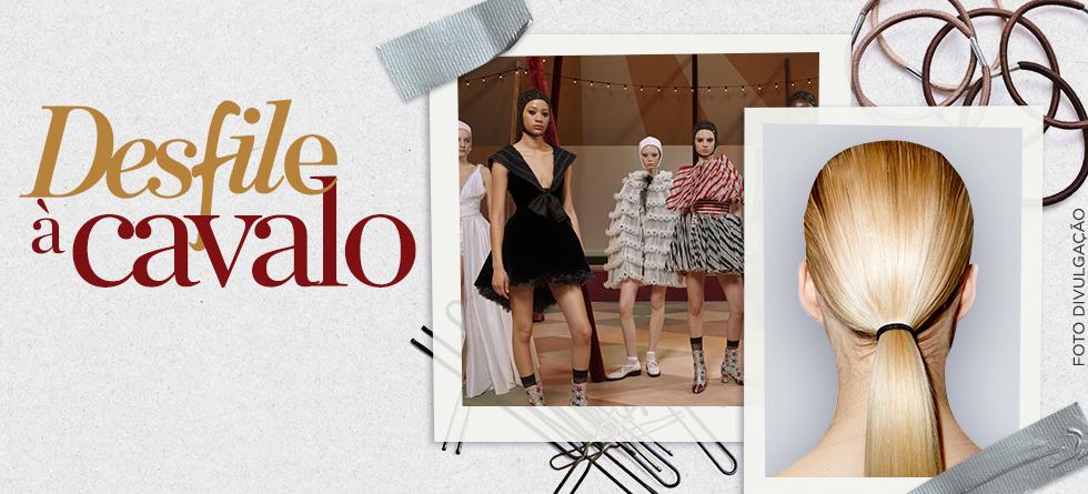 Cabelos de passarela Dior Couture 2019 com Redken