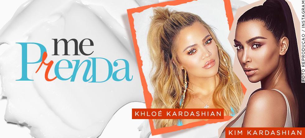 Penteados de cabelo preso das Kardashians