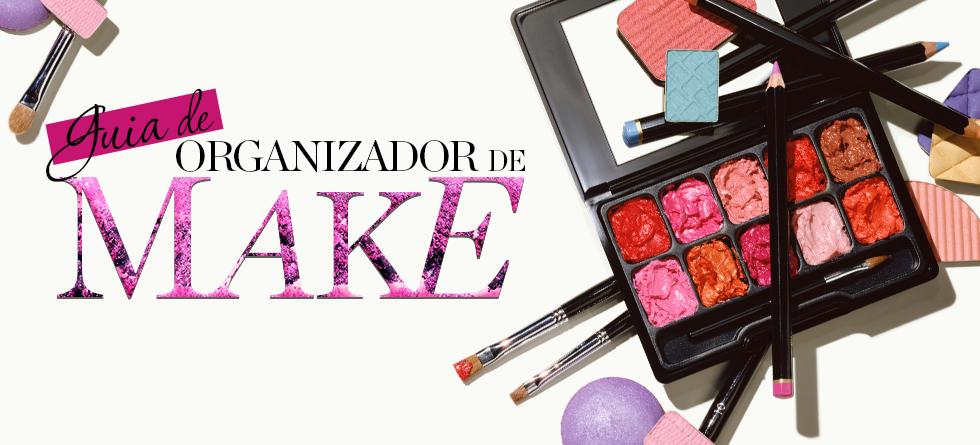 Guia de Maleta de Maquiagem e Organizador