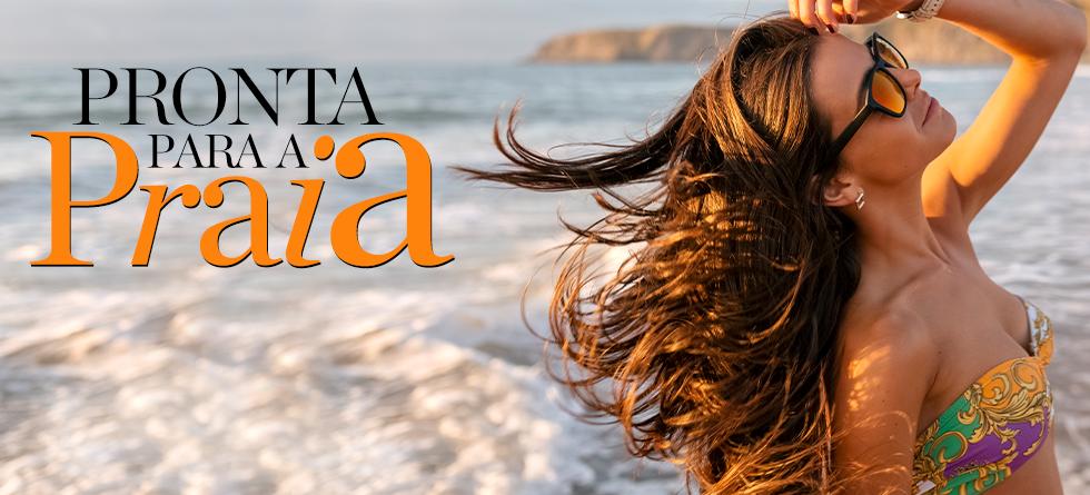 O que usar no cabelo na praia