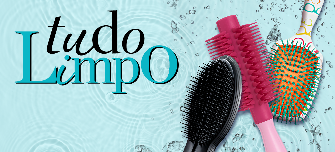 Como limpar escovas de cabelo