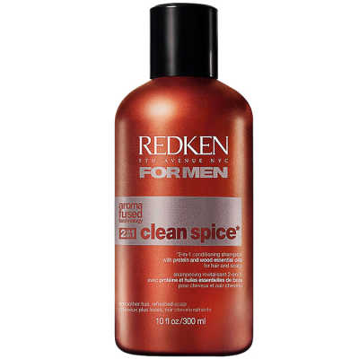 Redken for Men Clean Spice - Shampoo 2Em1 300ml