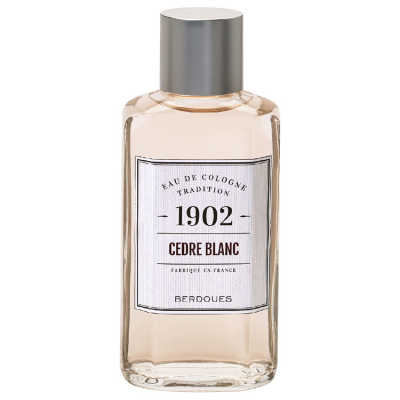 1902 Tradition Cedre Blanc Perfume Unissex - Eau de Cologne 245ml