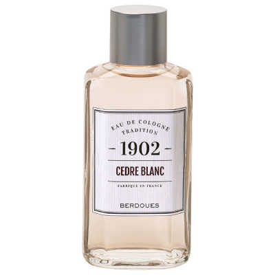 1902 Tradition Cedre Blanc Perfume Unissex - Eau de Cologne 480ml