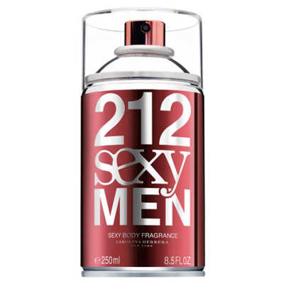Carolina Herrera Perfume Masculino 212 Sexy Men Body - Eau de Toilette 250ml