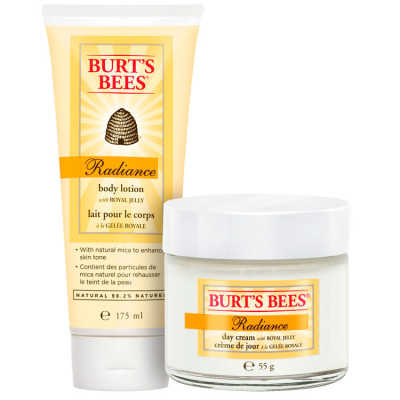Burt's Bees Radiance Body & Face With Royal Jelly Kit (2 Produtos)