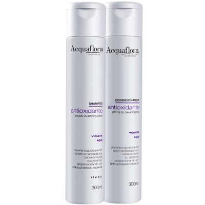 Acquaflora Antioxidante Secos ou Danificados Duo Kit (2 Produtos)