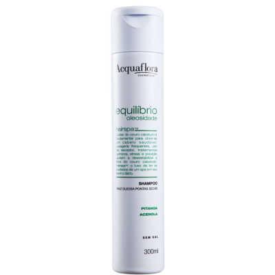 Acquaflora Equilíbrio Oleosidade Secos ou Danificados - Shampoo 300ml