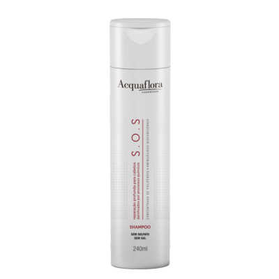 Acquaflora S.O.S Reparação Profunda - Shampoo 240ml