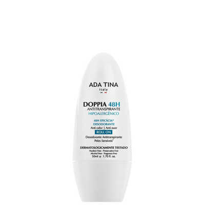 Ada Tina Doppia 48h - Antitranspirante Roll On 50ml