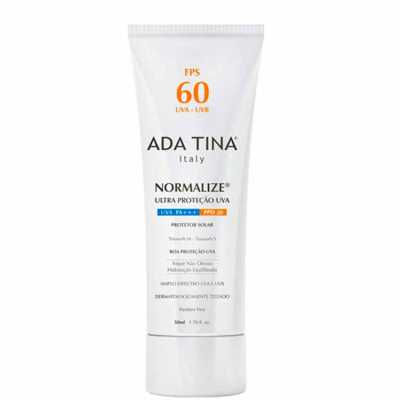 Ada Tina Normalize Fps 60 Ppd 20 - Protetor Solar Facial 50ml