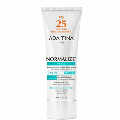 Ada Tina Normalize Pore Fps 25 Ppd 10,9 - Protetor Solar 50ml