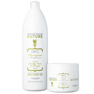 Alfaparf Precious Nature Prickly Pear & Orange Salon Duo Kit (2 Produtos)