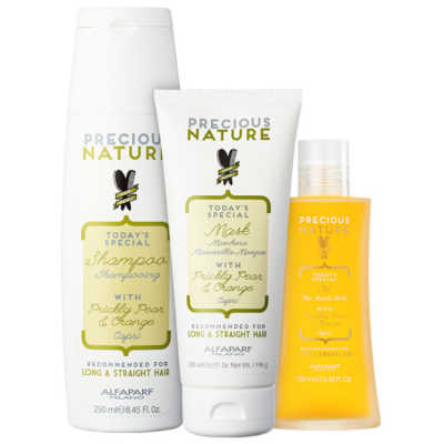 Alfaparf Precious Nature Prickly Pear & Orange Trio Kit (3 Produtos)