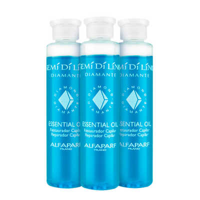 Alfaparf Semi di Lino Diamante Essential Oil - Ampola de Tratamento 3x13ml