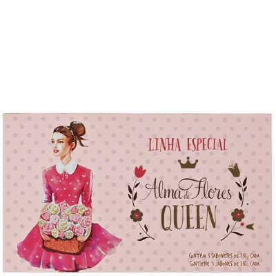 Alma de Flores Queen Kit - Sabonetes 3x 130g