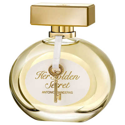 Her Golden Secret Antonio Banderas Eau de Toilette - Perfume Feminino 30ml