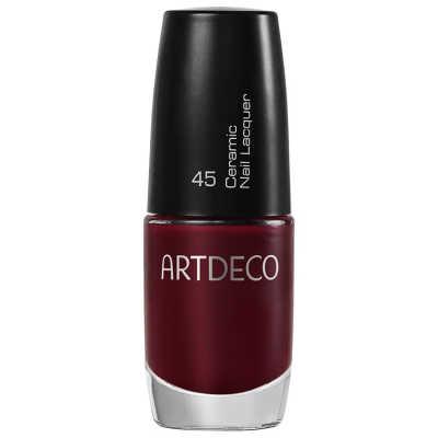 Artdeco Ceramic Nail Lacquer 45 Sinuous Claret - Esmalte 6ml