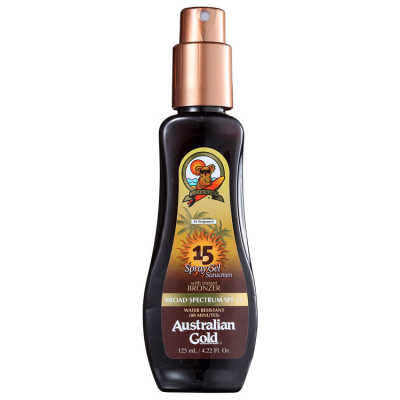 Australian Gold Spf 15 Spray Gel With Instant Bronzer - Bronzeador 125ml