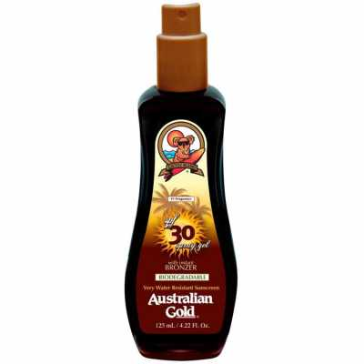 Australian Gold Spf 30 Spray Gel With Instant Bronzer - Protetor Solar 125ml