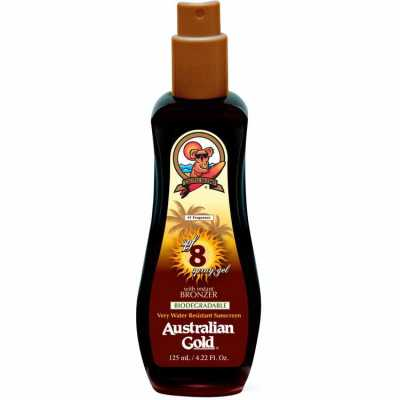 Australian Gold Spf 8 Spray Gel With Instant Bronzer - Bronzeador 125ml
