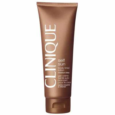 Clinique Self Sun Body Tinted Lotion Medium/Deep - Autobronzeador 125ml