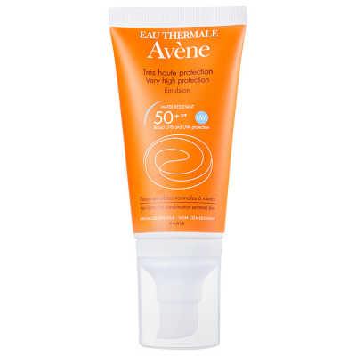 Avène Emulsion Toque Seco FPS 50 - Protetor Solar Facial 50ml