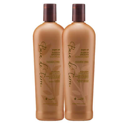 Bain de Terre Argan Oil Sleek & Smooth Duo Kit (2 Produtos)