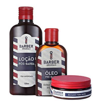 Barber Originals Barba Perfeita Kit (3 Produtos)