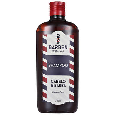 Barber Originals Cabelo e Barba - Shampoo 240ml
