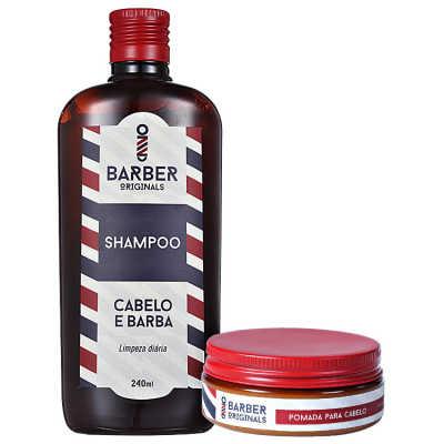 Barber Originals Cabelo Perfeito Kit (2 Produtos)