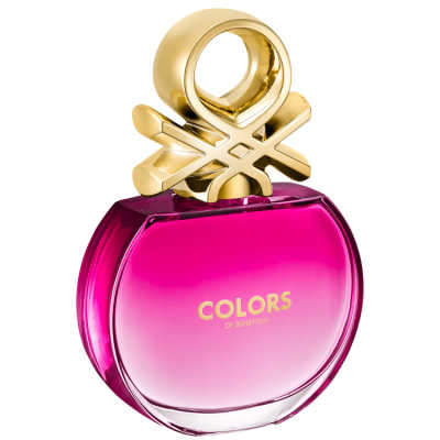 Benetton Colors Pink Perfume Feminino - Eau de Toilette 80ml