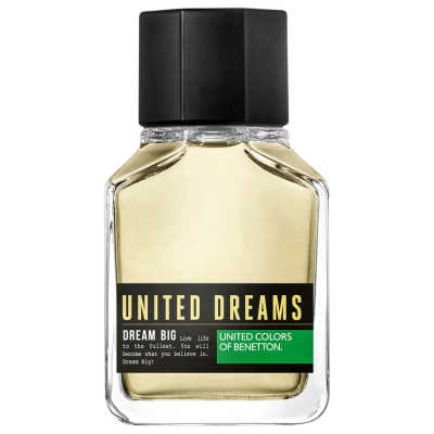 Dream Big Man Benetton Eau de Toilette - Perfume Masculino 100ml