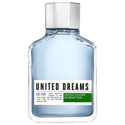 Benetton Perfume Masculino United Dreams Go Far - Eau de Toilette 200ml