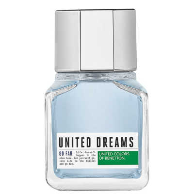 Benetton Perfume Masculino United Dreams Go Far - Eau de Toilette 60ml