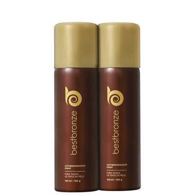 Best Bronze Duplo Bronzeado Kit (2 Produtos + Sabonete Grátis)