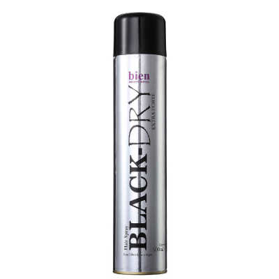 Bien Professional Black Dry Hair Spray - Spray Fixador 150ml