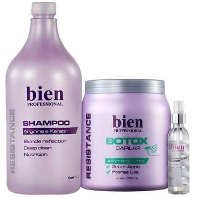 Bien Professional Resistance Botox Capilar Kit (3 Produtos)