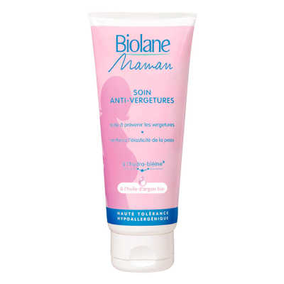 Biolane Maman Soin Anti-Vergetures - Creme Antiestrias 200ml