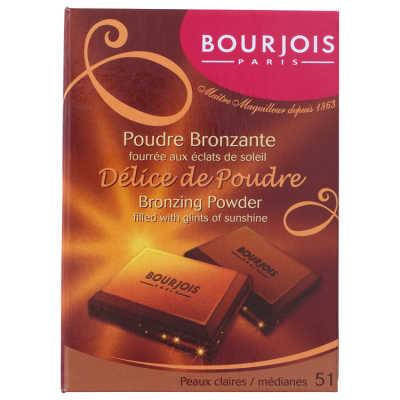 Bourjois Délice de Poudre Bronzante - 51 - Claires/Medianes