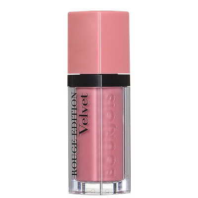 Bourjois Rouge Velvet 10 Don't Pink Of It - Batom Líquido 7,7ml