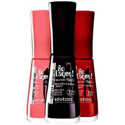 Bourjois So Laque Ultra Shine Diva Chine Glamour Kit (3 Produtos)