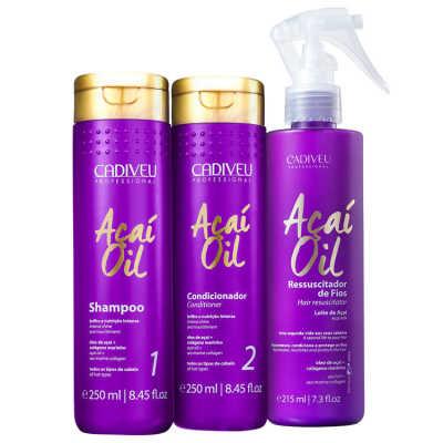Cadiveu Professional Açaí Oil Proteção Triplo Kit (3 Produtos)