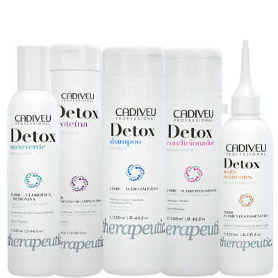 Cadiveu Professional Detox Therapeutic Care Kit (5 Produtos)